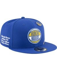 promo code c21a0 0e3a5 KTZ Golden State Warriors Hwc Shadow Floral 9fifty Snapback Cap for Men -  Lyst