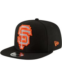 free shipping 70921 db5e5 KTZ San Francisco Giants Mlb Viza Hook 9Fifty Snapback Cap in Black for Men  - Lyst