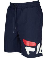 4530f47baf13b Fila Mesh Training Shorts in Blue for Men - Lyst