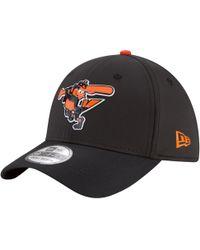 timeless design 09869 e1f6f KTZ Mlb Baltimore Orioles Cap in Black for Men - Lyst