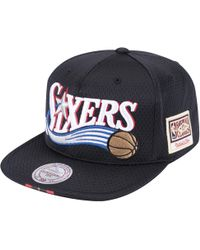 quality design 4e768 8192e Mitchell   Ness - Philadelphia 76ers Nba Snapback - Lyst