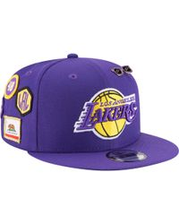 promo code 7a2a5 b5372 KTZ - Los Angeles Lakers Nba 9fifty On Stage Cap - Lyst
