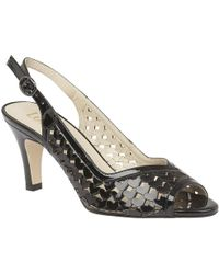 Lotus | Canaan Womens Sling Back Peep Toe Sandals | Lyst