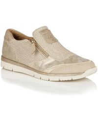 Lotus - Relife Marigold Zip Up Shoes - Lyst