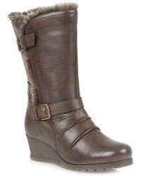Lotus - Korinna Calf Boots - Lyst