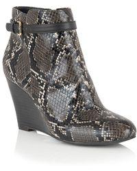 Lotus - Aiken Womens Ankle Boots - Lyst