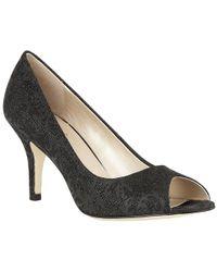 Lotus - Esmay Womens Peep Toe Court Shoes - Lyst