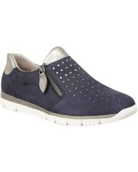 Lotus - Ferruccio Womens Leisure Shoes Women's Shoes (trainers) In Blue - Lyst