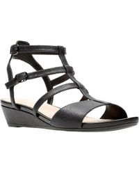 Clarks - Parram Spice Womens Strappy Sandal - Lyst