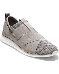 Cole Haan - Studiogrand Womens Sport Knit Slip-on Trainer - Lyst