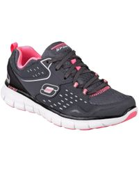 Skechers | Synergy Front Row Womens Sports Trainers | Lyst