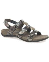 Vionic - Amber Womens Riptape Sandals - Lyst