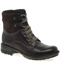 Josef Seibel - Sue Womens Lace Up Boots - Lyst