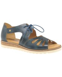 Pikolinos - Avand Womens Lace Up Sandals - Lyst