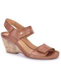 Pikolinos | Lupin Womens Wedge Heel Sandals | Lyst