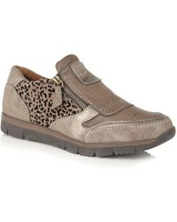 Lotus - Ruto Womens Casual Trainer Shoes Women's Shoes (trainers) In Brown - Lyst