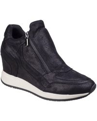 Geox - Nydame Womens Wedge Heel Sports Shoes - Lyst