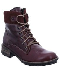 Josef Seibel - Sandra 83 Womens Lace Up Ankle Boots - Lyst