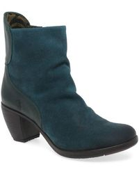 Fly London - Hota Womens Suede High Heeled Ankle Boots - Lyst