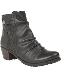 Lotus   Maples Womens Casual Ankle Boots   Lyst