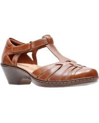 Clarks - Wendy Alto Womens T-bar Heeled Shoe - Lyst
