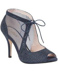 Lotus - Vanille Diamante Court Shoes - Lyst