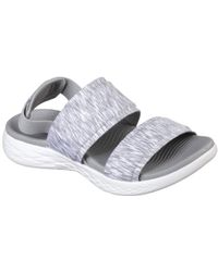 Skechers - On The Go 600 Foxy Womens Sandals - Lyst
