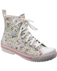 Rocket Dog - Rainy Womens Lace Up Wellington Boots - Lyst