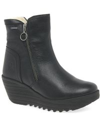 Fly London - Yolk Womens Warmlined Ankle Boots - Lyst