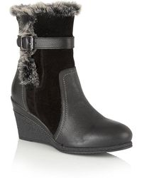 Lotus - Varda Womens Casual Ankle Boots - Lyst
