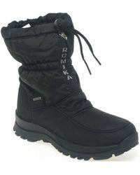 Romika - Alaska Womens Warm Lined Waterproof Snow Boots - Lyst