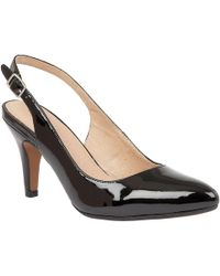 Lotus - Nadia Womens Slingback Court Shoes - Lyst
