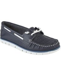 Lotus - Lazer Womens Casual Deck Shoes - Lyst