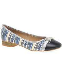 Charles Clinkard - Sally Womens Casual Ballet Pumps - Lyst