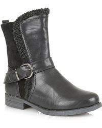 Lotus - Rink Womens Casual Ankle Boots - Lyst