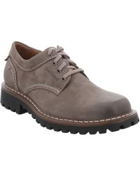 Josef Seibel - Chance 37 Mens Waxed Leather Casual Lace Up Shoes - Lyst