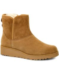 UGG - Kristin Womens Casual Ankle Boots - Lyst