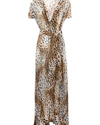Charlotte Olympia - Leopard Long Robe - Lyst