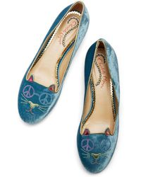 Charlotte Olympia - Peaceful Kitty - Lyst