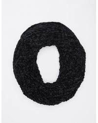 Charlotte Russe - Chenille Infinity Scarf - Lyst