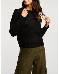 Charlotte Russe - Pom Pom Detailed Pullover Sweater - Lyst