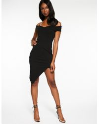 Charlotte Russe - Off The Shoulder Asymmetrical Dress - Lyst