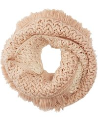 Charlotte Russe - Fringe Infinity Scarf - Lyst