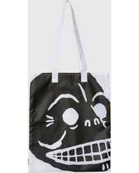 Cheap Monday   Modern Cover Skull Tote   Lyst