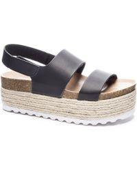 Dirty Laundry - Peyton Platform Sandal - Lyst