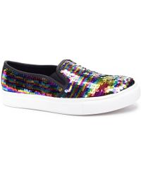 Dirty Laundry - Josephine Sequin Sneaker - Lyst