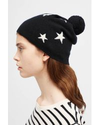 Chinti & Parker - Black Cashmere Star Hat - Lyst
