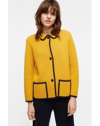 Chinti & Parker - Sunflower Piped Milano Jacket - Lyst