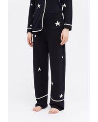 Chinti & Parker Star Cashmere Pyjama Bottom - Blue