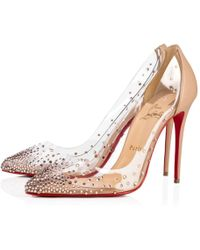 7326b250908 Lyst - Christian Louboutin Senora Matilda N°2 T-Bar Leather Pumps in ...